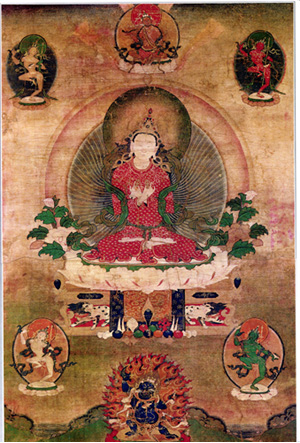 Sangye Won Thangka